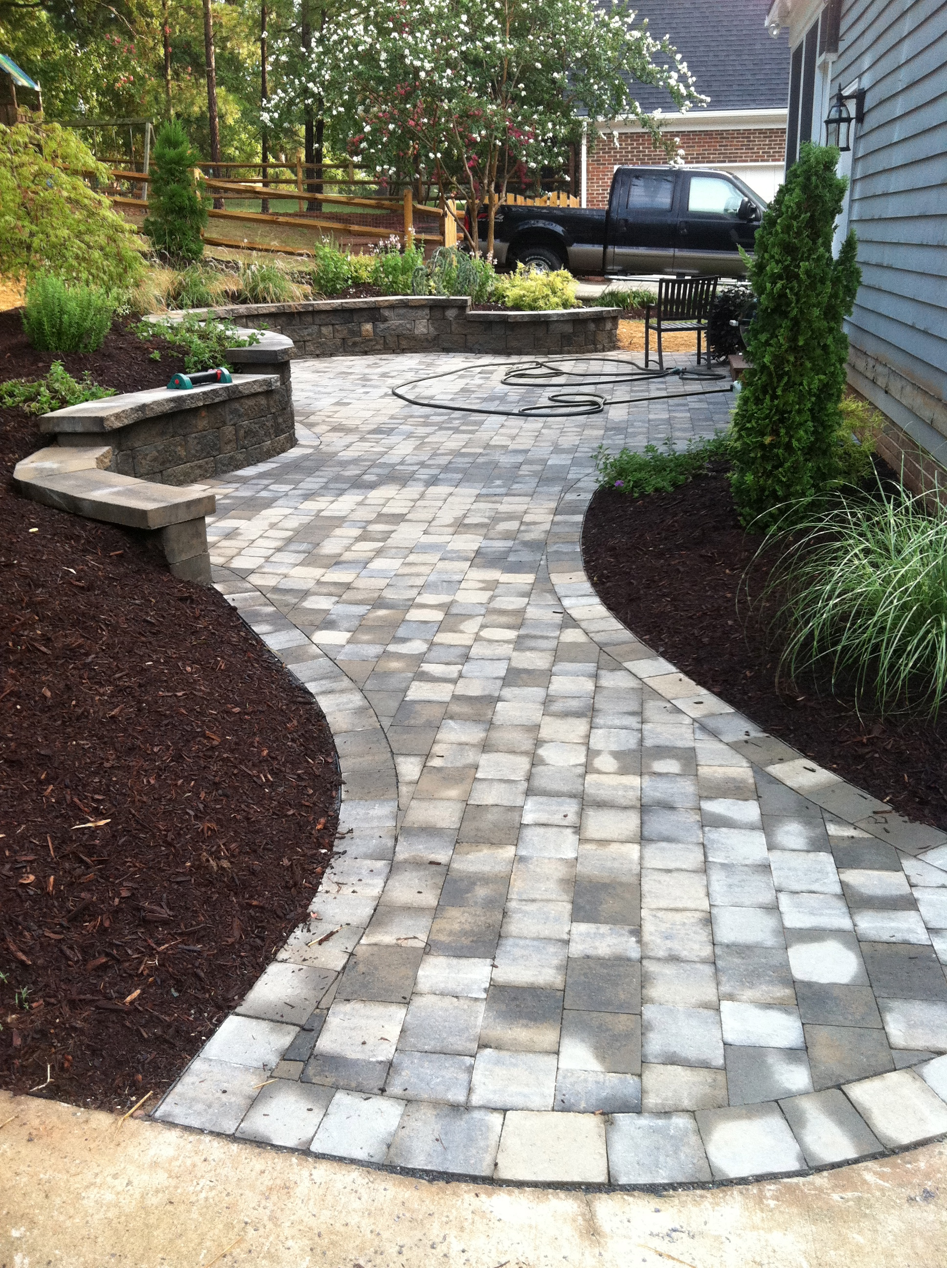 patio gallery home charming remodel pavers designs idea flagstone with decoration brick and about